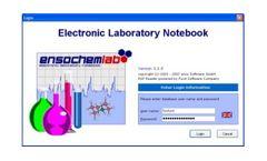 ensochemLab - Electronic Laboratory Notebook