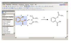 ensochemEditor - Chemical Drawing Program Software