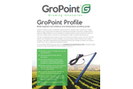 GroPoint Profile - Multi-Segment Soil Moisture and Temperature Profiling Probe - Datasheet