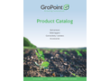 GroPoint Products Catalogue