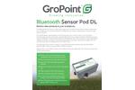 GroPoint - Model Pod DL - Bluetooth Sensor - Datasheet
