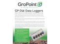 GroPoint - Model GP-DL4 - Automatic Recording of Sensor Data Loggers