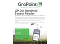 GroPoint - Model GP-DU - Handheld Sensor Reader - Datasheet