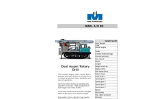 Marl - Model A/R 80 - Dual Purpose Auger/ Rotary Drill for Ultimate Versatility Brochure