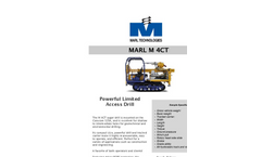 MARL - Model M 4CT - Auger Drills - Brochure