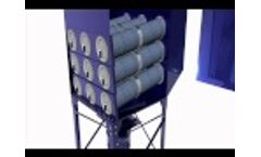 Downflo Oval Dust Collectors from Donaldson Torit - Industrial Air Filtration Video