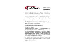 Regenerative Thermal Oxidizer (RTO)Technical Specifications Brochure