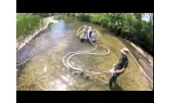 Dewatering System / Bedload Sediment Collector, Streamside Technology  Video