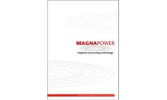 Magnapower - Model ECS - Eddy Current Separator - Brochure