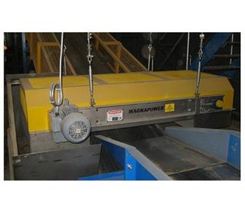 Magnapower - Overband Magnetic Separators