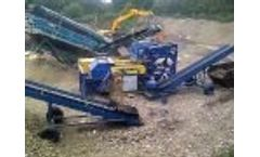 Magnapower Mobile Eddy Current Separation Plant Video