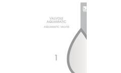 Aquamatic Valves - Brochure