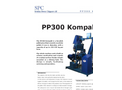 Model PP300 - Small Scale Pellet Press Brochure