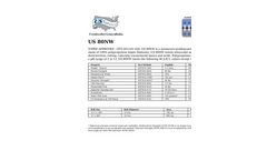 Model US 80NW - Nonwoven Geotextile Brochure