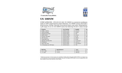 Model US 100NW - Nonwoven Geotextiles Brochure