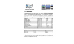 Model US 120NW - Nonwoven Geotextile Brochure