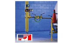 PortaZoom - Variable-Axis Motorized Telescopic Mast for Sewer and Pipe Inspections