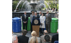 New York City expands public space recycling at minimal cost to taxpayers