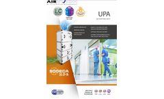 Air-Vision- - Model UPA - Air Purifying Units - Brochure