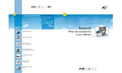 Air-Vision - Model VCPL - Laboratory Centrifugal Ventilator - Brochure