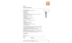 Model 4.382x.4x.xxx - 2D Ultrasonic Anemometer Brochure