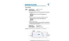 Ultrapure Water RO Elements - RE8040-HUE440 - Brochure