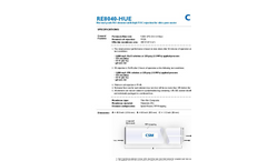 Ultrapure Water RO Elements - RE8040-HUE - Brochure