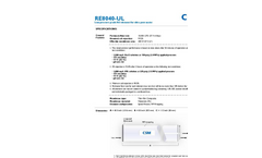 Ultrapure Water RO Elements - RE8040-UL - Brochure