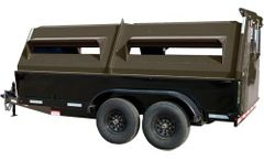 Haul - Model RRT - Recycling Refuse Collection Trailer