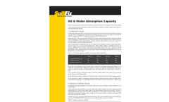 SpillFix Oil & Water Absorbtion Capacity