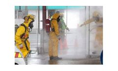 Integrated real-time gas analysis solution for chemical decontamination industry