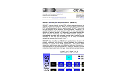 SPGAS™: SPecialty Gas Analysis Software