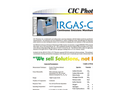 IRGAS CEM Continuous Emissions Monitoring Analyzer Specifications