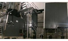 Hurricane MK cyclone system for PM Emission reduction on a 3MWth biomass boiler (12.500m3 /h at 240ºC) - Case Study
