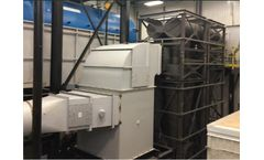 Hurricane HR cyclone system to reduce particulate matter emissions from a 600Hp biomass boiler burning bark - Case Study