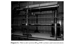 Pilot and Industrial-Scale Experimental Investigation of Numerically Optimized Cyclones