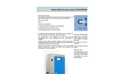3S-Analyzers - Model 3S-UVFL - Oil-in-Water UV Fluorescence Online Analyzers  Brochure