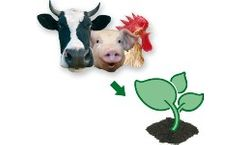 Manure treatment for the composting industry