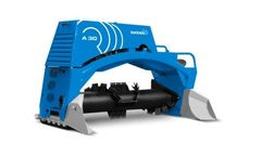 BACKHUS - Model A 30 - Robust, Compact and Manoeuvrable Soil Turner