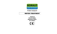 Wastewater Treatment Brochure