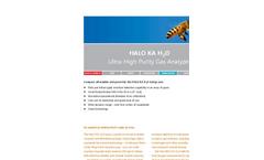 HALO - Model KA - H2O Gas Analyzers Brochure