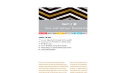 HALO - Model 3 HF - Trace Level Hydrogen Fluoride Gas Analyzer Brochure