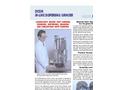 Arde Dicon Inline Dispersing Grinder 2 X 1 Laboratory System Brochure