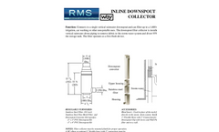 Downspout Filter Collector- Brochure