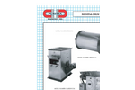 Rotating Drum Magnet Separators – Data Sheet
