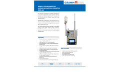 EDM465 Ultrafine Particle Counter - Datasheet