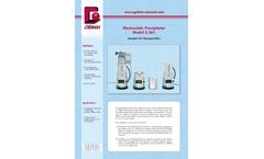 GRIMM - Model 5561 - Electrostatic Precipitator - Datasheet