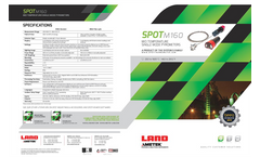 SPOT M160 Standard and Fibre-optic thermometers