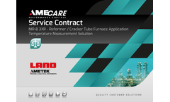 AMECARE Service Contract Return on Investment - NIR-B 3XR - Reformer Cracker Tube Furnace Application (EN)