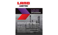 Ametek Land Flare Stack Monitoring - Application Note
